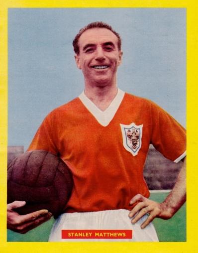Stanley Mathews, Blackpool 1958