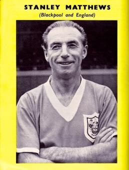 Stanley Mathews, Blackpool 1960