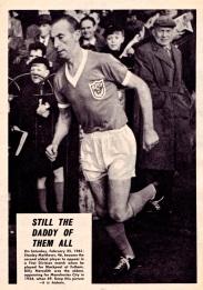 Stanley Mathews, Blackpool 1961