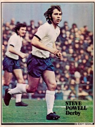 Steve Powell, Derby Country 1976