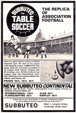 Subbuteo 1968