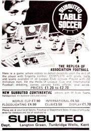 Subbuteo 1972