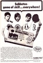 Subbuteo 1973-2