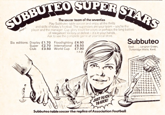 Subbuteo 1973