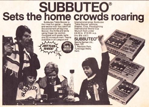Subbuteo 1974