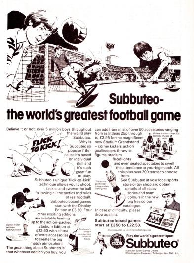 Subbuteo 1978-2