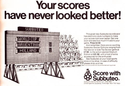 Subbuteo 1980