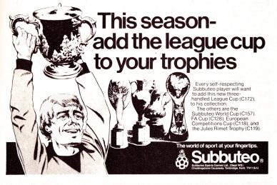 Subbuteo 1981-2