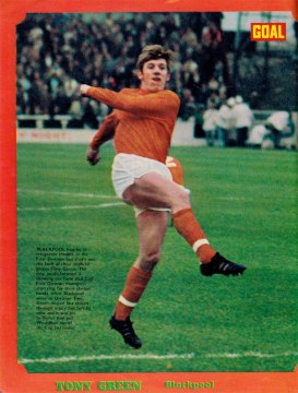 Tony Green, Blackpool 1971