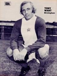 Tony Want, Birmingham City 1973