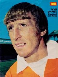 Wyn Davies, Blackpool 1973