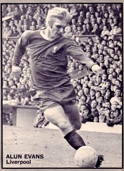 Alun Evans, Liverpool 1970