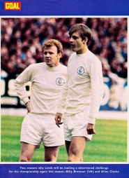 Bremner & Clarke, Leeds United 1971