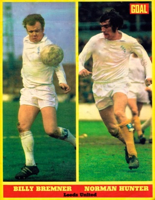 Bremner & Hunter, Leeds United 1972