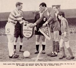 Celtic v Liverpool, 1966