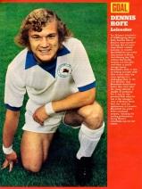 Dennis Rofe, Leicester City 1972