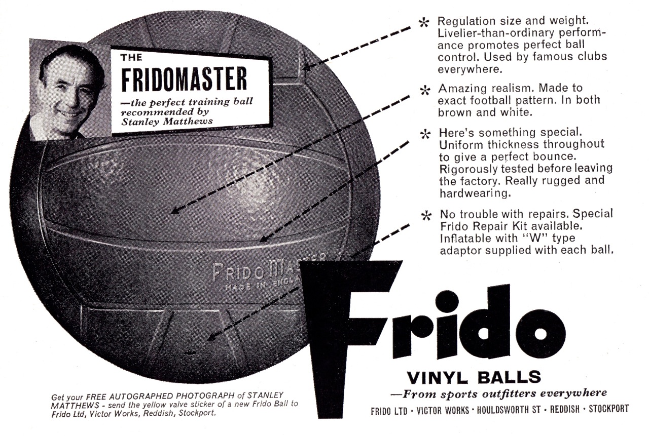 The Matchday Programme Frido-1960