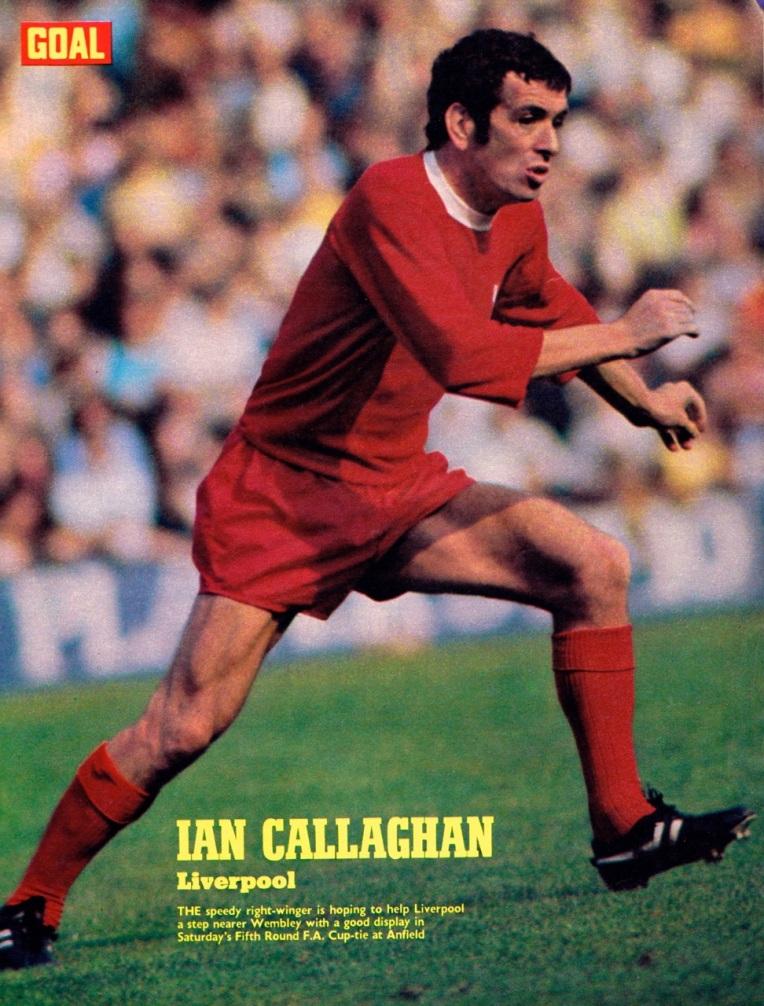 Ian Callaghan, Liverpool 1971