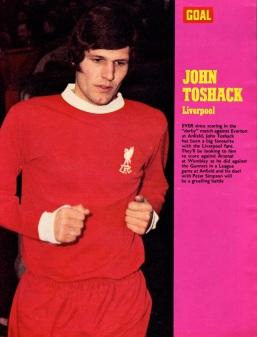 John Toshack, Liverpool 1971-2