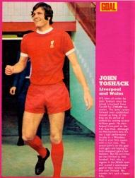 John Toshack, Liverpool 1971