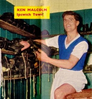 Ken Malcolm, Ipswich Town 1959