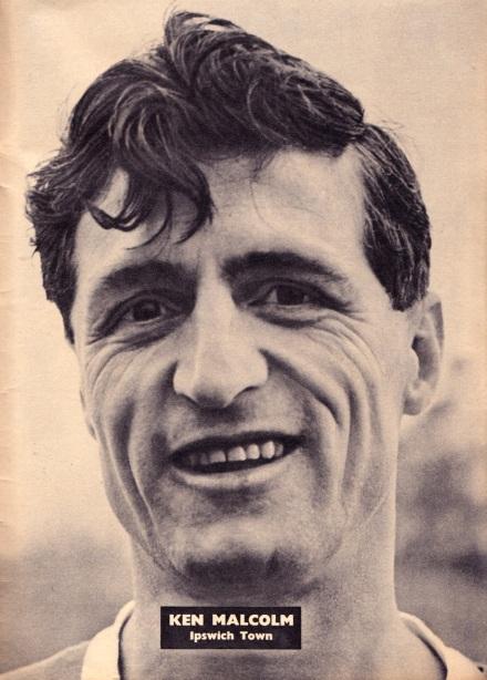 Ken Malcolm, Ipswich Town 1961