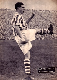 Laurie Kelly, Huddersfield Town 1954