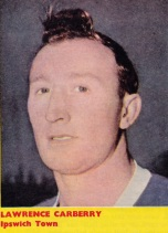 Lawrence Carberry, Ipswich Town 1961