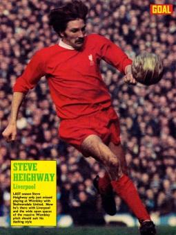 Steve Heighway, Liverpool 1971