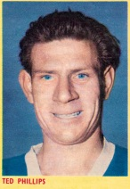 Ted Phillips, Ipswich Town 1961