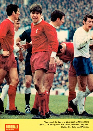 Tottenham v Liverpool, 1969