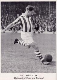Vic Metcalfe, Huddersfield Town 1951