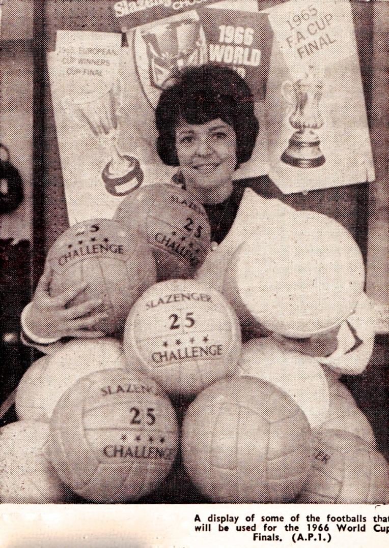 World Cup balls 1966