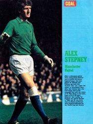 Alex Stepney, Man United 1971