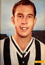 Barrie Thomas, Newcastle Utd 1963