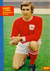 Barry Lyons, Nottingham Forest 1970