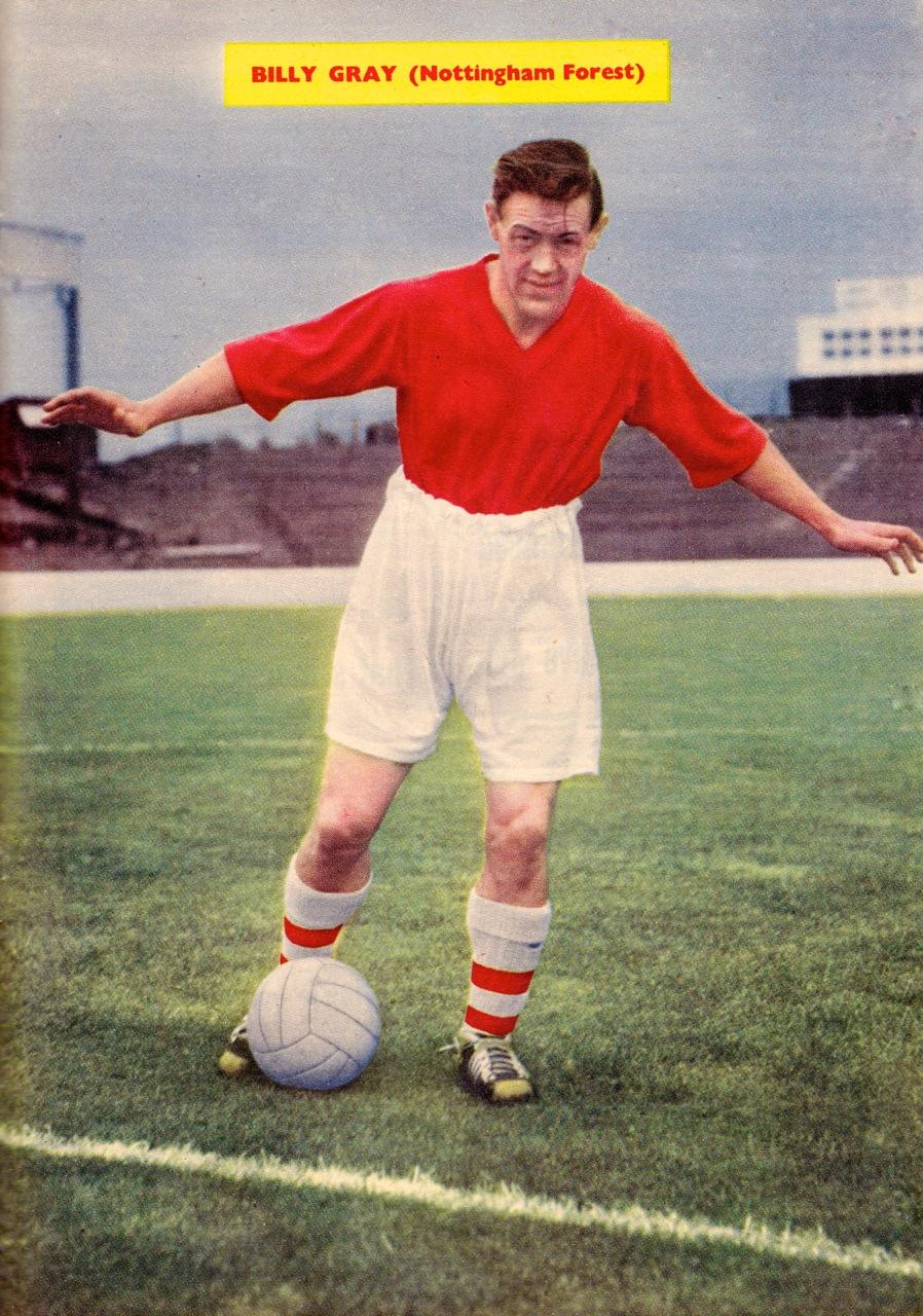 Billy Gray, Nottingham Forest 1959