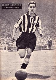 Bobby Mitchell, Newcastle Utd 1951