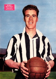 Bobby Mitchell, Newcastle Utd 1958