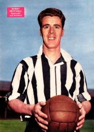 Bobby Mitchell, Newcastle Utd 1958
