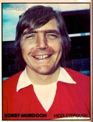 Bobby Murdoch, Middlesbrough 1974