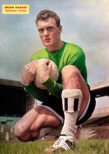 Brian Harvey, Newcastle Utd 1960