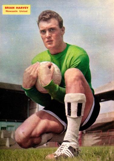 Brian Harvey, Newcastle Utd 1960