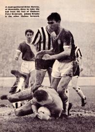 Brian Harvey, Newcastle Utd 1961