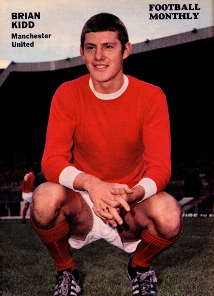 Brian Kidd, Man United 1969