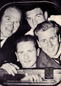 Busby & players, Man United 1958