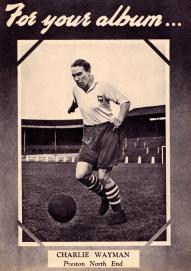 Charlie Wayman, Preston NE 1951