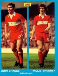 Craggs & Maddren, Middlesbrough 1974