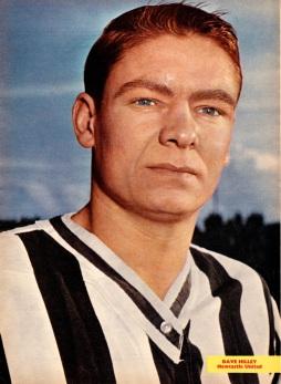 Dave Hilley, Newcastle Utd 1963