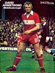 David Armstrong, Middlesbrough 1974